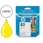 Cartucho HP 82 amarillo referencia C4913A