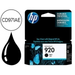 Cartucho HP 920 negro referencia CD971AE