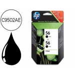 Cartucho HP referencia C9502AE N.56 negro (Pack 2)