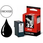 Cartucho Lexmark 018CX032E negro