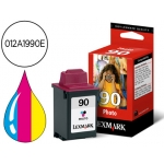 Cartucho Lexmark referencia 012A1990E tricolor Nº90