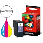 Cartucho Lexmark referencia 018C2140E Nº 37 tricolor
