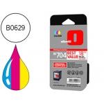 Cartucho Olivetti referencia B0629 Nº IN704 tricolor