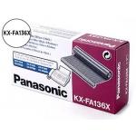Cartucho Panasonic referencia KX-FA136X negro