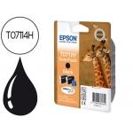 Cartucho de tinta Epson referencia T0711H doble pack .negro