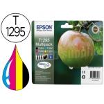 Cartucho de tinta Epson referencia T1295 tricolor + negro