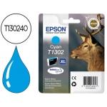 Cartucho de tinta Epson referencia T1302 cian XL