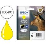Cartucho de tinta Epson referencia T1304 amarillo XL