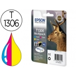 Cartucho de tinta Epson referencia T1306 pack tricolor XL