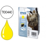Cartucho de tinta Epson stylus referencia T1004 amarillo