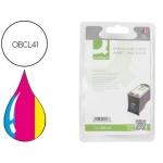 Cartucho de tinta Q-Connect compatible Canon IP1200 1300 1600 2200 mp150 160 170 450 460 jx200 500 tricolor cl-41
