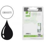 Cartucho de tinta Q-Connect compatible Epson stylus C42/C44/C46 negro