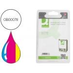 Cartucho de tinta Q-Connect compatible Epson stylus C62,CX3200 color