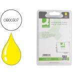 Cartucho de tinta Q-Connect compatible Epson stylus C64 66 84 86, cx3600 3650 4600 6600 amarilloalta capacidad durabrite 13ml