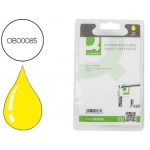 Cartucho de tinta Q-Connect compatible Epson stylus C82, cx5200 amarillo, 16ml.