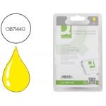 Cartucho de tinta Q-Connect compatible Epson stylus D78 dx4000 dx4050 dx500 dx5050 dx6000 3x6050 dx7000f amarillo