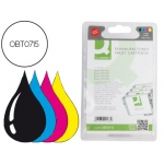 Cartucho de tinta Q-Connect compatible Epson stylus D78 negro/color negro/color