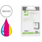 Cartucho de tinta Q-Connect compatible Epson stylus color 680/685 color, 37ml.