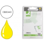 Cartucho de tinta Q-Connect compatible Epson stylus photo R265/R360 rx560 amarillo