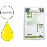Cartucho de tinta Q-Connect compatible Hp 1000 1100 2200 2230 2250 2280 2300 2600 2800 DJ10PS designjet n.11 amarillo