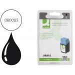 Cartucho de tinta Q-Connect compatible Hp dj 610caja de 6 UNIDADES40C656C fax 1020/ 925xi-14ml n 20 negro