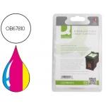 Cartucho de tinta Q-Connect compatible Hp dj 6540 6620 5740 5745 59406840 6540 6940 9800 D4160 photosmart n.344 tricolor 14ml