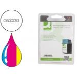 Cartucho de tinta Q-Connect compatible Hp dj n.49 tricolor 22.8ml deskjet 350 600 610 640c 656c 660c 670 690 692 695deskwriter