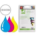 Cartucho de tinta Q-Connect compatible Hp photosmart 3110 3200 3210 3310 8200 8250 C51806180 7100 d7160 n.363 tricolor