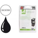 Cartucho de tinta Q-Connect compatible Hp photosmart C3180 n.338 negro pack2