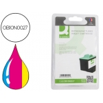 Cartucho de tinta Q-Connect compatible Lexmark color jp Z13 z23 z33 z25 z35 z603 z605 altren n.17