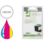 Cartucho de tinta Q-Connect compatible Lexmark color jp Z13 z23 z33 z25 z517 z600 z601i3 mf x74 x75 x110 negro altre
