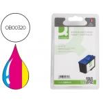 Cartucho de tinta Q-Connect compatible Lexmark jetprinter color Z55 z65 mf x5100 5130 5150 x6100 x6150 x6170 col.n83