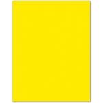 Cartulina Guarro color amarillo canario 50x65 cm 185 gr