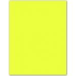 Cartulina Guarro color amarillo limon 50x65 cm 185 gr