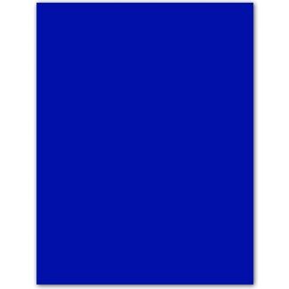 Cartulina Guarro color azul ultramar 50x65 cm 185 gr