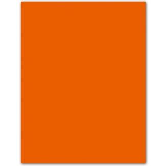 Cartulina Guarro color mandarina 50x65 cm 185 grs