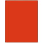 Cartulina Guarro color tomate 50x65 cm 185 gr