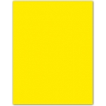 Cartulina Guarro tamaño A3 color amarillo fluorescente 185 gr paquete 50 hojas