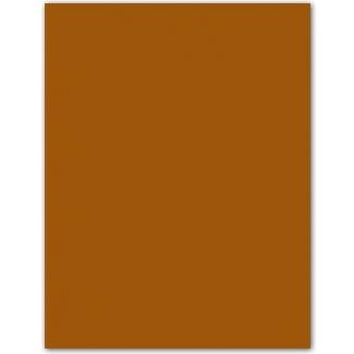 Guarro 200040213 - Paquete de 50 cartulinas, A3, 185 gr/m2, color marrón chocolate