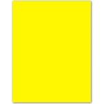 Cartulina Guarro tamaño A4 color amarillo canario 185 gr paquete 50 hojas