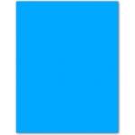 Cartulina Guarro tamaño A4 color azul maldivas 185 gr paquete 50 hojas