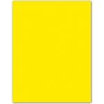 Cartulina Guarro tamaño A4 color gualda 185 gr paquete 50 hojas