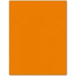 Cartulina Guarro tamaño A4 color naranja 185 gr paquete 50 hojas