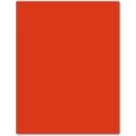 Cartulina Guarro tamaño A4 color tomate 185 gr paquete 50 hojas