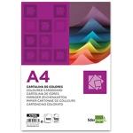 Liderpapel CT02 - Paquete de 100 cartulinas, A4, 180 gr/m2, color crema