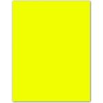 Cartulina fluorescente 230 gr amarilla 50x65 cm