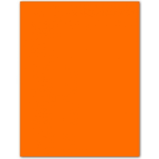 Cartulina fluorescente 230 gr color naranja 50x65 cm