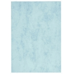 Cartulina marmoleada tamaño A3 200 gr color azul paquete de 100 hojas