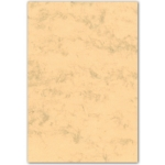 Cartulina marmoleada tamaño A3 200 gr color ocre paquete de 100 hojas