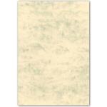 Cartulina marmoleada tamaño A4 200 gr color crema claro paquete de 100 H